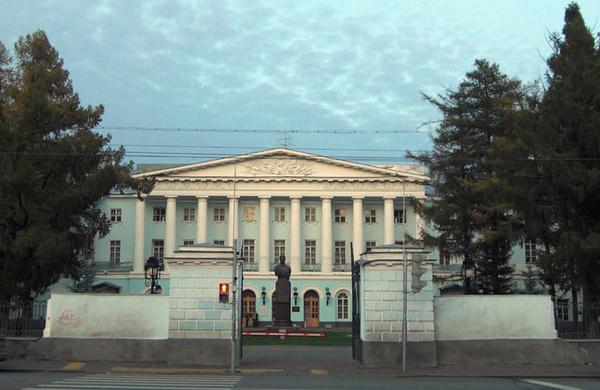 Усадьба Салтыковых на Суворовской площади в Москве