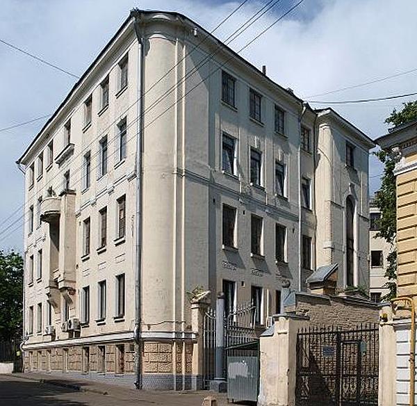 Хохловский переулок, дом 3 в Москве