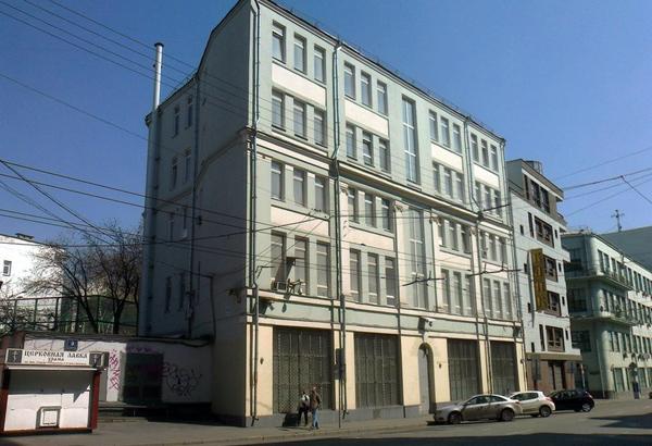 Лубянский проезд, дом 9 в Москве