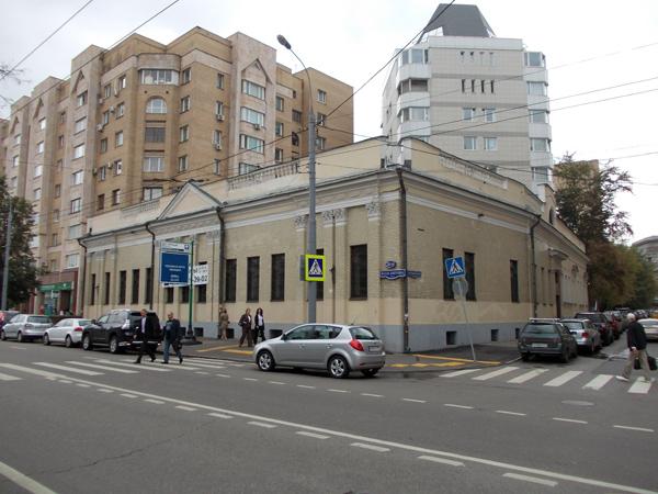 Старопименовский переулок, дом 18 в Москве