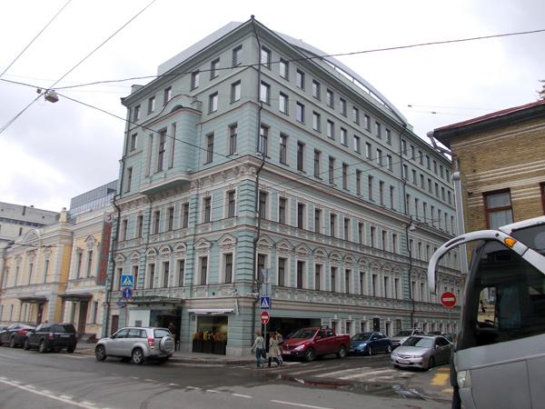 Улица Малая Дмитровка, дом 11 в Москве