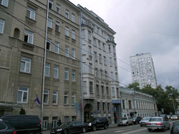 Улица Малая Дмитровка, дом 25 в Москве