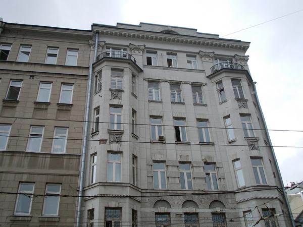 Доходный дом архитектора Гельриха на Малой Дмитровке