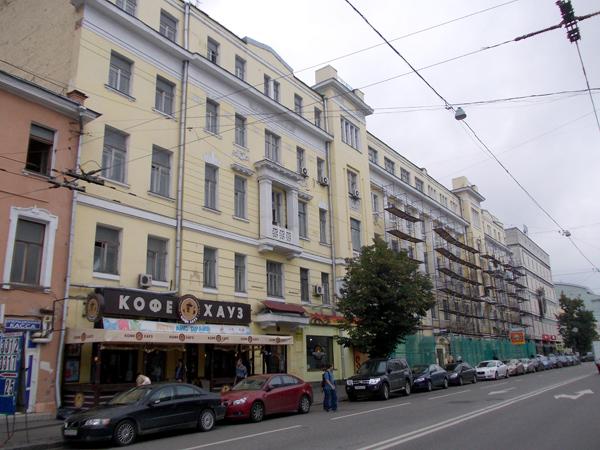 Доходный дом Тюляевой на Малой Дмитровке в Москве