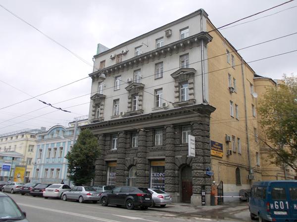 Улица Малая Дмитровка, 8 в Москве