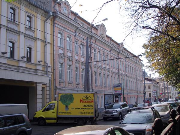 Улица Неглинная, 18 в Москве