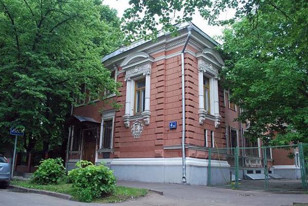 Дом Мейера в переулке Чернышевского, 4 в Москве