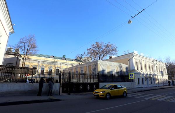 Подсосенский переулок, дом 23 в Москве