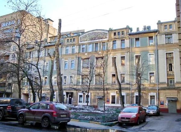 Подсосенский переулок, дом 8 в Москве