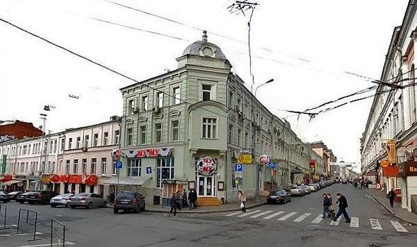 Улица Рождественка, дом 5/7 в Москве