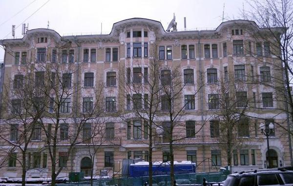 Рождественский бульвар, дом 9 в Москве