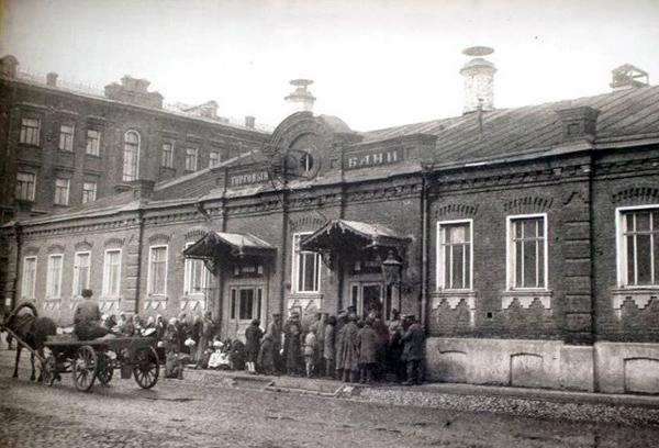 Селезневские бани в Москве