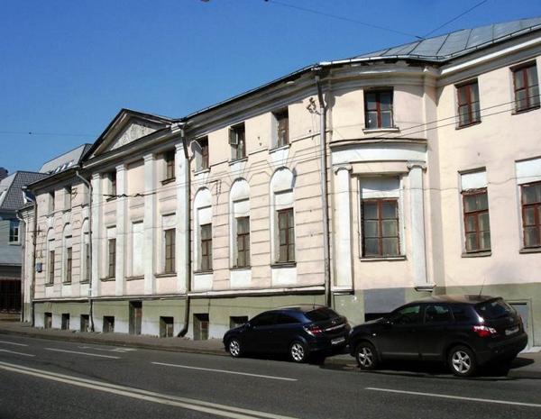 Улица Спартаковская, дом 3 в Москве