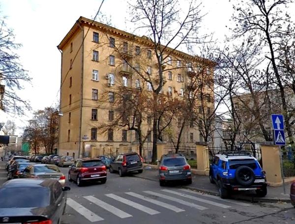 Особняк Якунчикова в Среднем Кисловском переулке в Москве