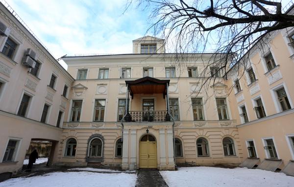Усадьба Голицыных в Староваганьковском переулке в Москве