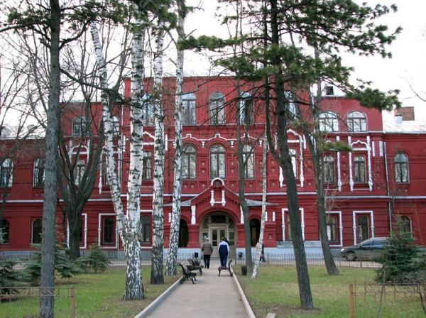 Бахрушинская больница на Стромынке