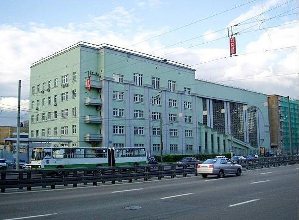Улица Сущевский Вал, дом 33 в Москве