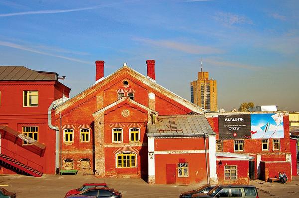 Центр Винзавод в Сыромятническом переулке
