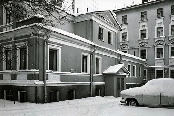 Воротниковский переулок, дом 10 в Москве