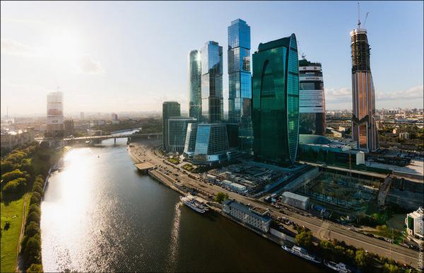 Башня Империя Москва-Сити