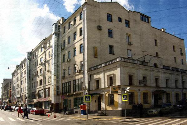 Большая Никитская улица, дом 22 в Москве