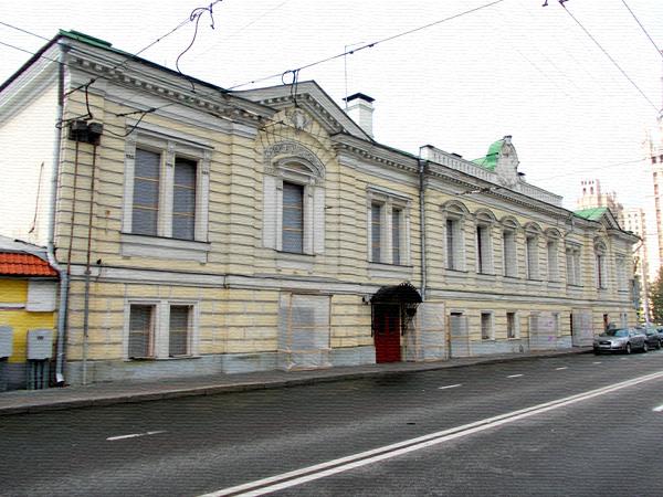 Большая Никитская, дом 57/46 в Москве