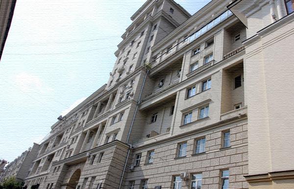 Дом актеров МХАТ в Глинищевском переулке в Москве