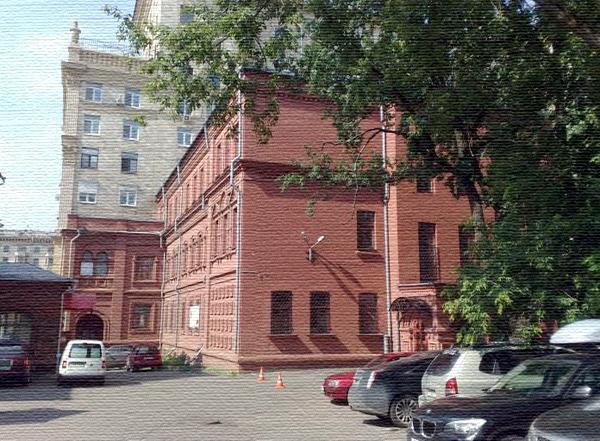 Черкасская богадельня на Ленинградском проспекте в Москве