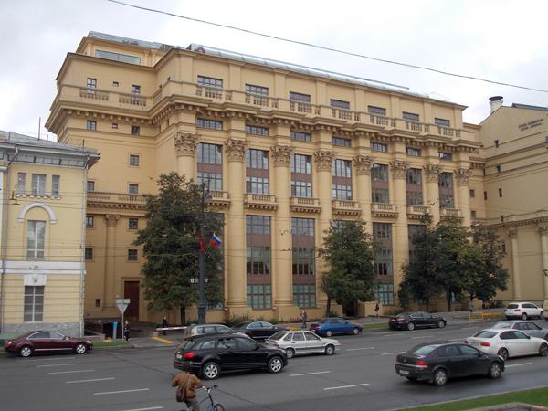 Улица Моховая, дом 13 в Москве