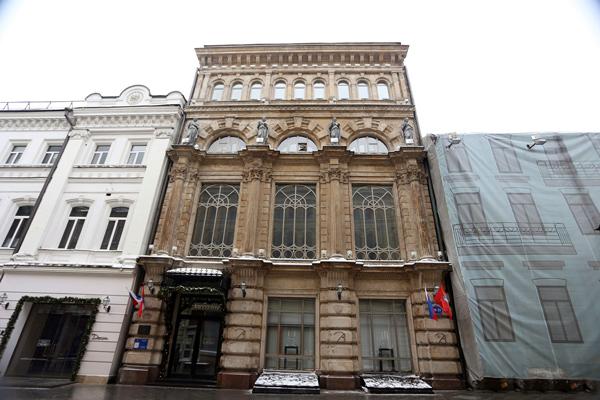Улица Никольская, дом 21 в Москве