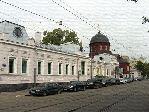 Улица Новокузнецкая, дом 40 в Москве