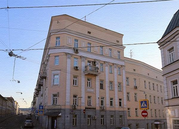 Певческий переулок дом 1 в Москве