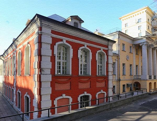 Орловская больница в Подколокольном переулке в Москве