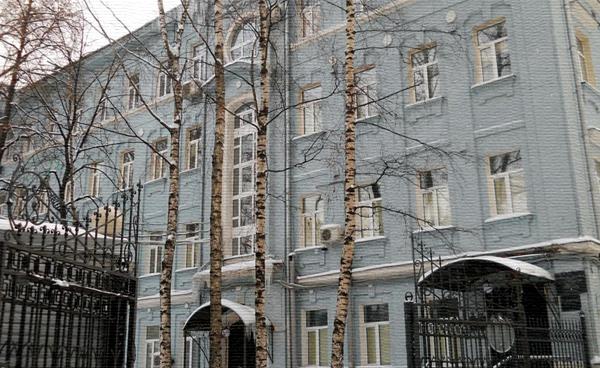 Улица Покровка, дом 22а в Москве (МОНИИАГ)