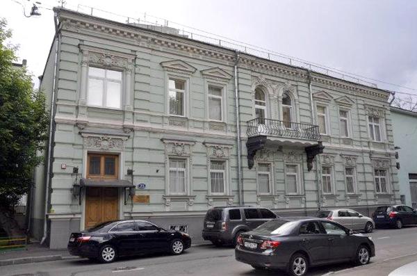 Скатертный переулок, 25 в Москве