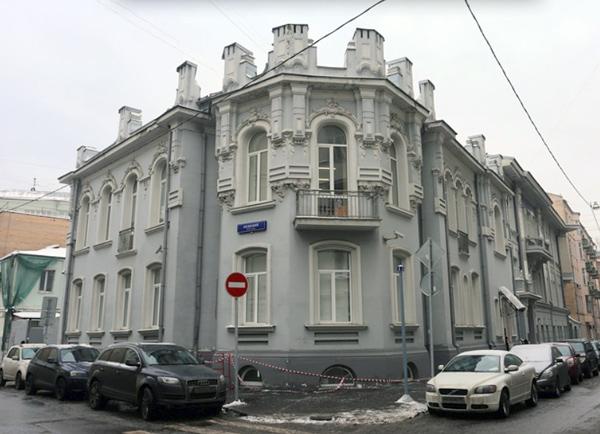 Скатертный переулок, дом 4 в Москве