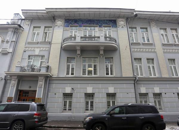 Усадьба Тарасовых в Скатерном переулке в Москве