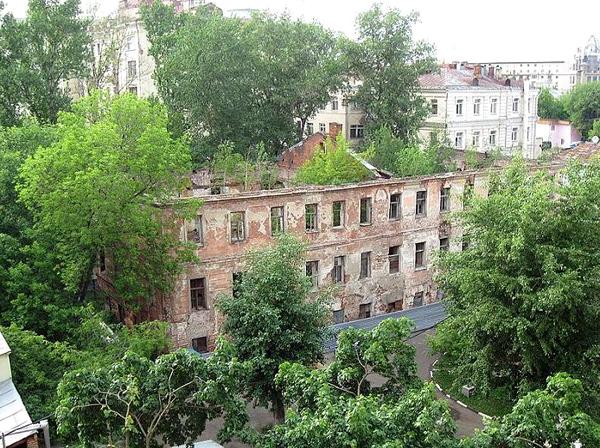 Староваганьковский переулок, дом 15 в Москве