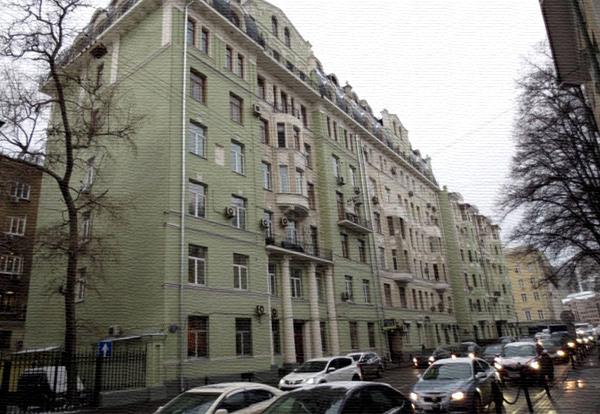 Улица Знаменка, дом 13 в Москве