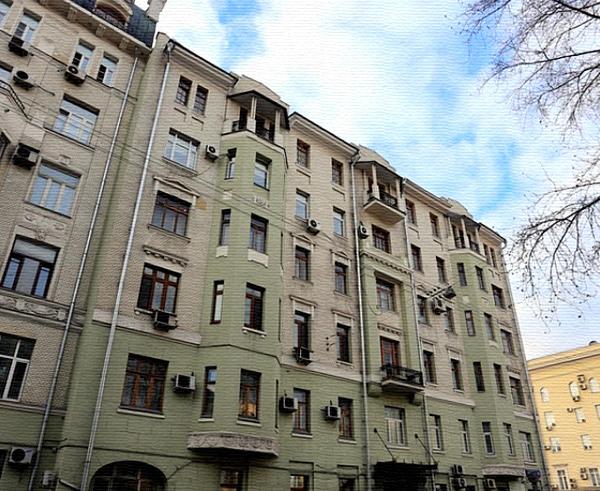 Доходный дом Балихина на Знаменке, дом 15 в Москве