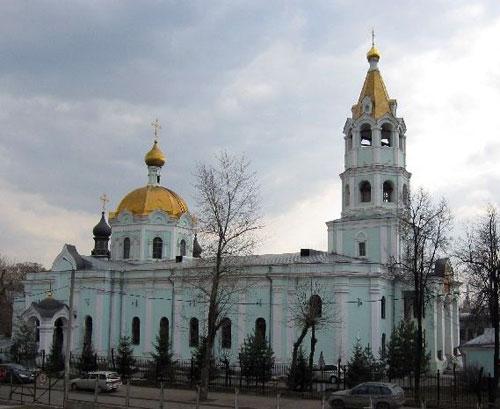 Храм святителя Николая Чудотворца на Трех Горах в Москве