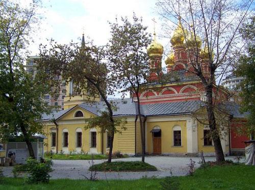 Храм святителя Николая Чудотворца на Щепах в Москве