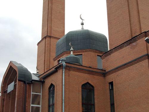 Мусульманская мечеть по улице Хачатуряна