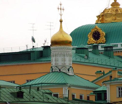 Рождественский храм в московском Кремле