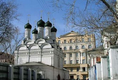 Храм Михаила и Феодора Черниговских в Москве