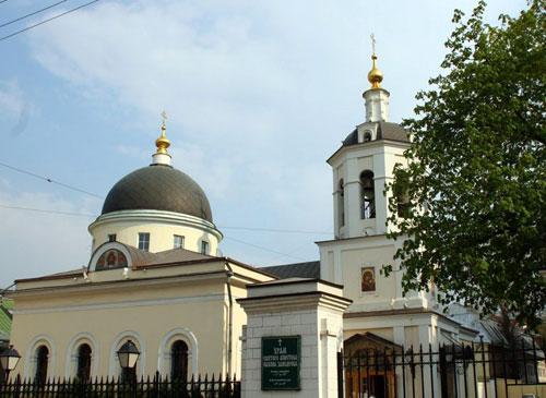 Храм святого Иакова Заведеева в Казенной слободе в Москве