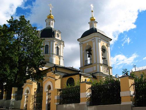 Храм святителя Николая Чудотворца в Звонарях