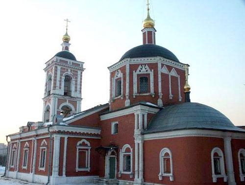 Покровский храм на 2-й Покровской улице в Москве