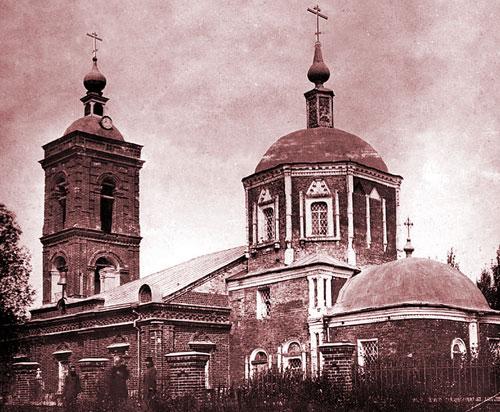 Храм Покрова Богородицы в Покровском-Городне