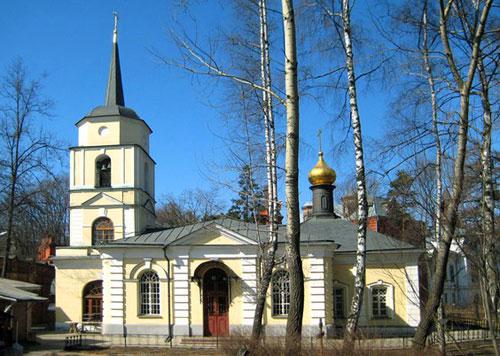 Храм Покрова Богородицы в Покровском-Стрешневе-Глебове